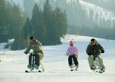 Snowcycle 3 leute